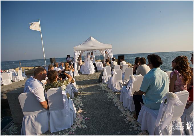 Нестандартная свадьба на Кипре